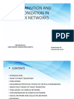 Complex network presentation