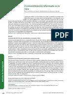 Lectura 01E - Comprensión del consentimiento informado en la investigación clínica