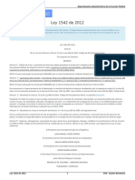 Ley 1542 de 2012 - PSICOLOGÍA JURÍDICA