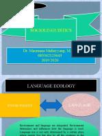 Language Ecology
