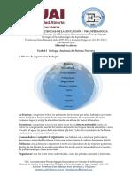 Unidad I. 1 Niveles de organización biológica.