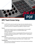 MpcTouchScreenSetup