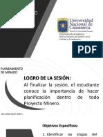 PLANEAMIENTO DE MINADO_DEFINICIONES