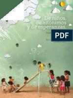 De niños, de anónimos y de esperanzas. Juan Reichenbach. ProInfantia. 2013. Ficción_compressed