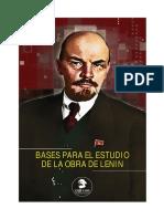 Sesión 1 - Introducción. Lenin