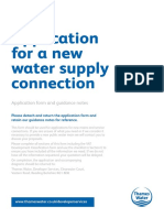 new-water-supply-connection-application-form
