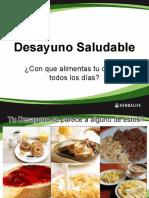 Desayuno Saludable 2010