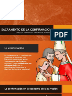 SACRAMENTO DE LA CONFIRMACION