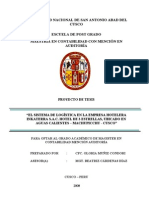 PROYECTO TESIS - POI - PROBLEMA OBJETO DE INVESTIGACIÓN