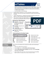 How to Create a Pivot Table in Excel 2010 - For Dummies pdf