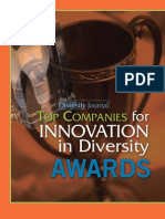 Diversity Journal   2006 Innovations in Diversity Awards