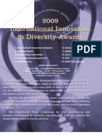 Diversity Journal | 2009 Innovations in Diversity Awards