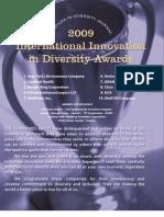 Diversity Journal   2009 Innovations in Diversity Awards