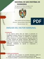 ANÁLISIS DEL FACTOR MARGINAL - AEB YRQ 1