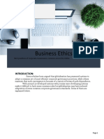 Business Ethics Assignment Part 2
