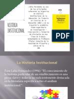 La Historia Institucional Fernández L5