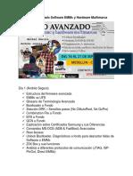 Curso Avanzado Software EMMc y Hardware Multimarca