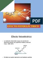 Antecedentes - Efecto Fotoelectrico