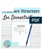 FREESpanishDemonstrativeAdjectivesGrammarWorksheet