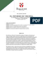 THE VIRGINIA REPORT