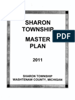 Sharon Township Master Plan 2011