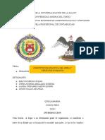 LEY ORGÁNICA DEL TRIBUNAL CONSTITUCIONAL