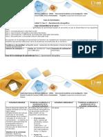 Guía de actividades y rúbrica de evaluación – Fase 2 Aproximación etnográfica (1)