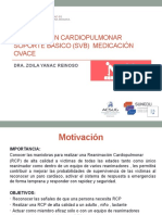 SEMINARIO RCP - MEDICACIÓN ACTUAL PP8