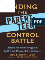 Neil D. Brown - Ending the Parent-Teen Control Battle_ Resolve the Power Struggle and Build Trust, Responsibility, and Respect-New Harbinger Publications (2016).pdf
