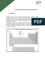 Guía n°2 Tabla periodica Química para Prueba de Transición 2020
