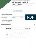 Exercício avaliativo 3 - Oscilações 2_ FÍSICA GERAL II