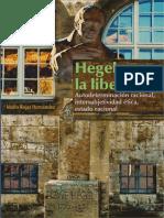 Hegel y La Libertad. Autodeterm - Mario Rojas Hernandez
