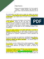 homilía completa del Papa Francisco en pentecostes