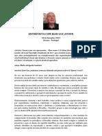 ENTREVISTA COM JEAN-LUC AYOUN - PARTE 1 - 30 de Setembro 2019 - Portugal