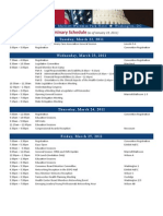 NACHC 2011 Policy and Issues Schedule At a Glance
