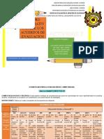 CUADRO COMPARATIVO ACUERDOS DE EVALUACIÓN EQUIPO 4