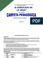 CARPETA PEDAGOGICA DE I.G.V.