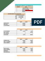 EJERCICIO FINANZAS proyecciones de tesoreria presupuesto de efectivo,recaudo,cartera