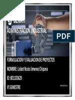 FORO 03 - formulacion y evaluacion de proyectos
