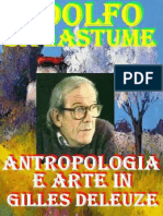 Adolfo Sagastume - Antropologia e Arte in Gilles Deleuze-Amazon Digital Services, Inc. (2013)