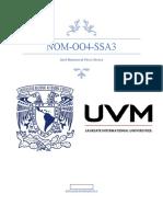 Resumen de la NOM-004-SSA3-2010