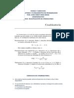 TEORIA Y EJERCICIOS combinatoria y probabilidad