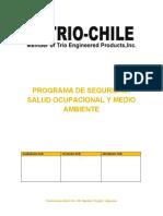 PROGRAMA DE SSO & MA TRIO-CHILE