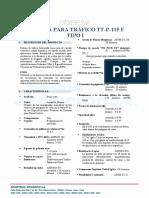FICHA TECNICA_TRAFICO TTP-115 F TIPO I
