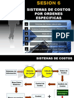 Sistemas de Costos x Ordenes Especificas