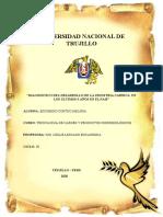 DIAGNOSTICO DEL DESARROLLO DE LA INDUSTRIA CARNICA