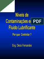 Contaminações do óleo