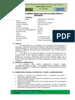 CULTURA FISICA Y DEPORTE
