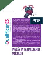 INGLÊS INTERMEDIÁRIO MÓDULO 1