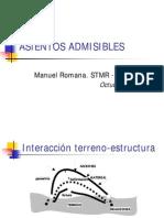 [Geotecnia] Manuel Romana - Cálculo de Asientos Admisibles